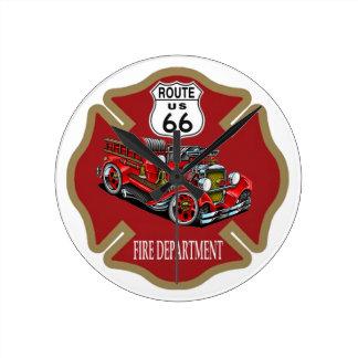 Route 66 de Klok van het Brandweerkorps