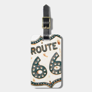 Route 66 kofferlabel