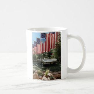 Route 66 Vlaggen met Korvet Koffiemok