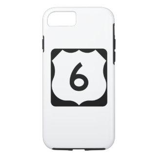 Route 6 van de V.S. Teken iPhone 8/7 Hoesje