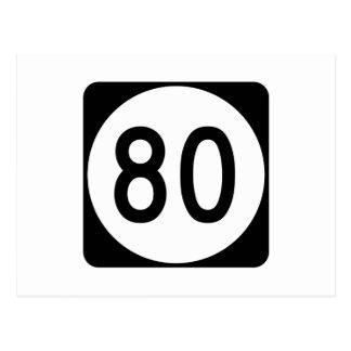 Route 80, Kentucky, de V.S. Briefkaart