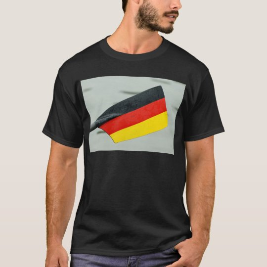 Rowing oar with German flag T Shirt