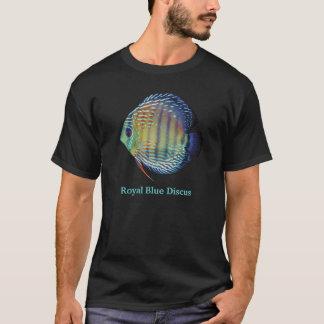 Royal Blue Discus T Shirt