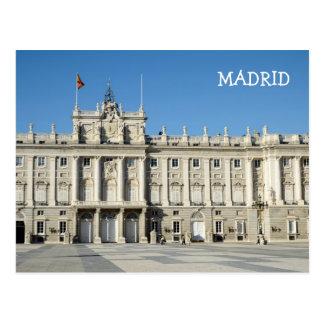 Royal Palace, het Briefkaart van Madrid