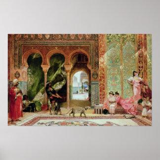 Royal Palace in Marokko Poster
