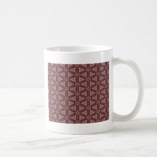 Roze Abstractie Koffiemok