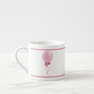 Roze Ballon 2 Espresso Kop