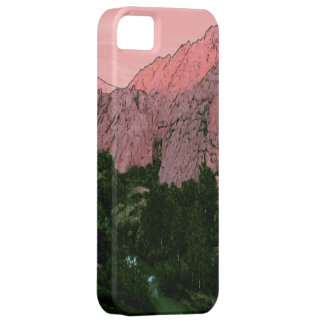 Roze Berg Barely There iPhone 5 Hoesje