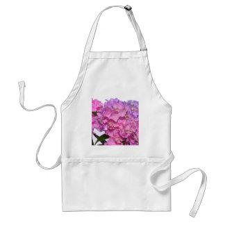 Roze & Blauwe Hydrangea hortensia's Standaard Schort