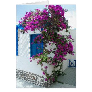 Roze Bloemen Briefkaarten 0