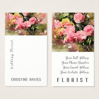 Roze bloemen, het visitekaartje van de visitekaartjes