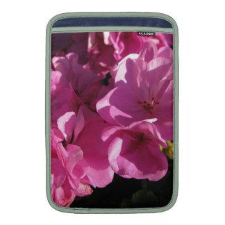 roze bloemen beschermhoezen voor MacBook air