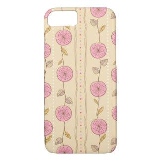 Roze Bloemen iPhone 8/7 Hoesje