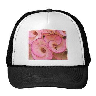 roze bloemen trucker petten