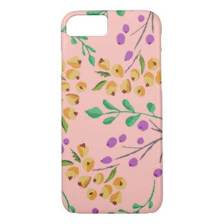 Roze BloemeniPhone 7 nauwelijks daar het Hoesje
