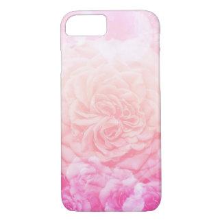 Roze BloemenOmbré iPhone 8/7 Hoesje