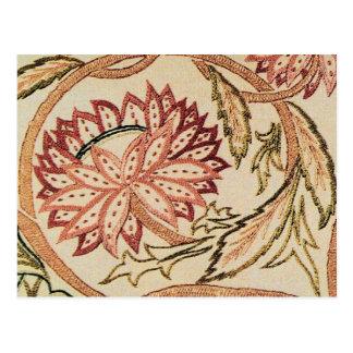 Roze Boheemse Bloemen Briefkaart