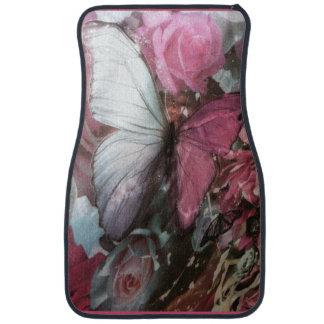 Roze burtterflyReeks van Girly Automatten