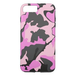 Roze Camo, iPhone 7 plus Taai Hoesje