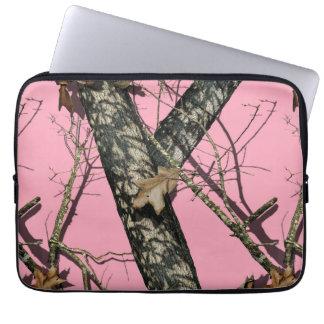 Roze Camouflage Computer Sleeve