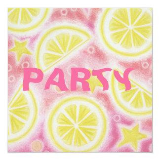 """Roze citroenen"""" partij van de Limonade de Kaart"""