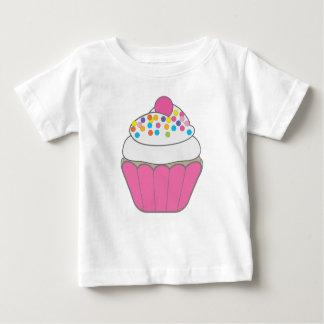 Roze Cupcake Baby T Shirts