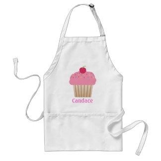 Roze Cupcake Gepersonaliseerde Schort