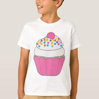 Roze Cupcake T Shirt