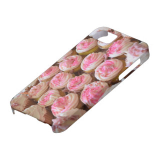 Roze Cupcakes Barely There iPhone 5 Hoesje