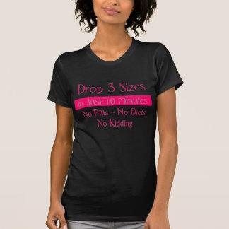 Roze Daling 3 zwart T-shirt