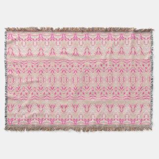 roze   dekking deken
