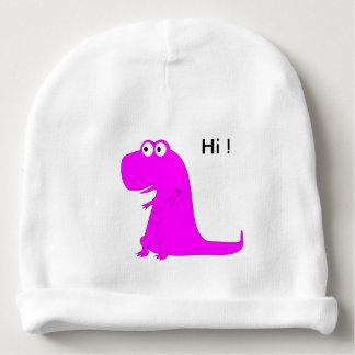 Roze Dino Baby Mutsje