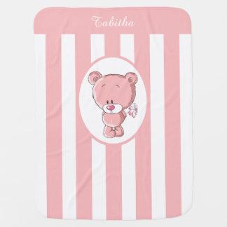 Roze draag de Deken van het Baby Inbakerdoek
