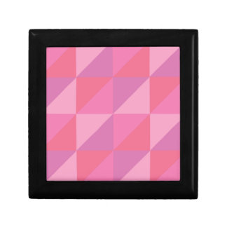 Roze Driehoeken Decoratiedoosje