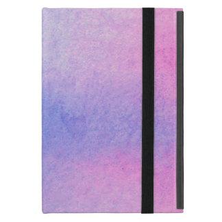 Roze en Blauwe Marmeren Watercolour iPad Mini Hoesje