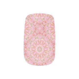 Roze en Gouden Minx Spijkers Minx Nail Folie