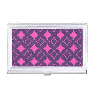 Roze en paarse shippo visitekaartjes mapje