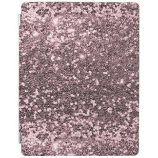 Roze Faux schittert Fonkeling iPad Cover