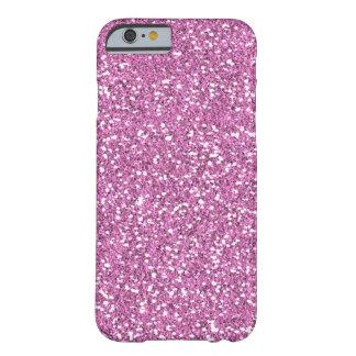 Roze Faux schittert iPhone 6 hoesje