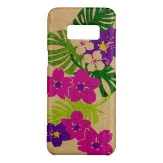 Roze Faux van de Tuin van Limahuli het Hawaiiaanse Case-Mate Samsung Galaxy S8 Hoesje