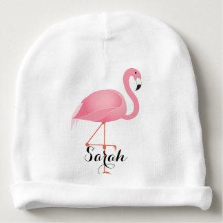 Roze Flamingo Baby Mutsje
