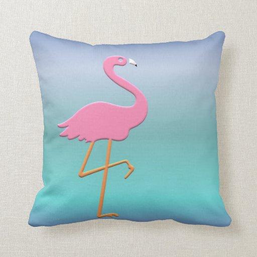 Roze Flamingo Decoratie Kussen   Zazzle