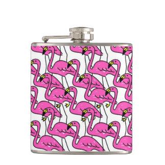 Roze Flamingo Heupfles