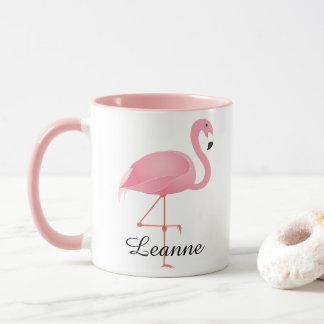 Roze Flamingo Mok