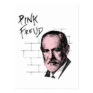 Roze Freud Sigmund Freud Briefkaart