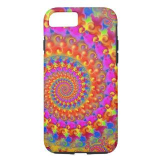 Roze Gekke Fractal iPhone 8/7 Hoesje