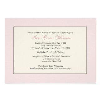Roze Godsdienstige Uitnodiging