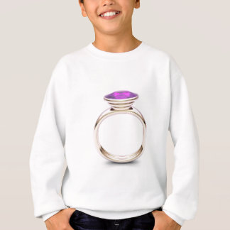 Roze gouden ring trui