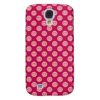 roze harthoesje voor girly mobiele telefoons galaxy s4 hoesje