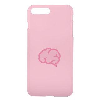 Roze hersenen iPhone 7 plus hoesje